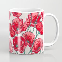 red popies Coffee Mug