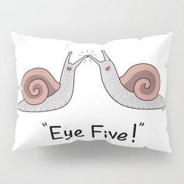 Snail Puns Pillow Sham