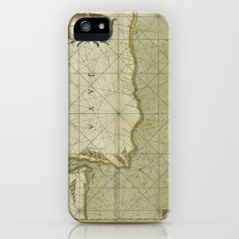 A large draught of the east end of JAVA and MADURA shewing the streights of BALLY iPhone Case