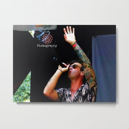 Zac Barnett - American Authors - Warped Tour - 2017 Metal Print