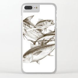 Saltwater big game Clear iPhone Case