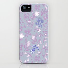 Fist Full of Lilacs iPhone Case