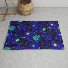 Wrinkle Planet Pattern Rug