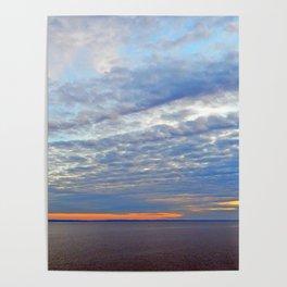 Northumberland Strait at Dusk Poster