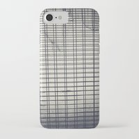 grid iPhone & iPod Cases featuring Grid by farsidian