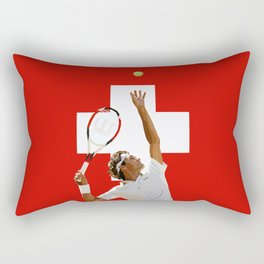 Roger Federer | Tennis Rectangular Pillow