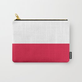 Flag of Poland - Authentic (High Quality Image) Carry-All Pouch
