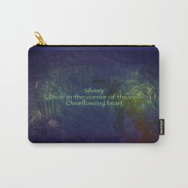 Blue Love Carry-All Pouch