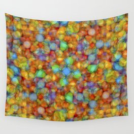 Bubbly Colours Pattern Wall Tapestry