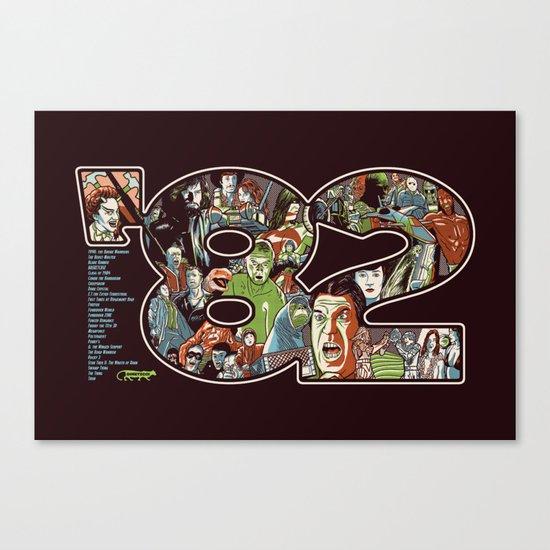 '82 Canvas Print