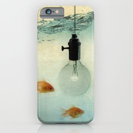Fishing for ideas iPhone Case