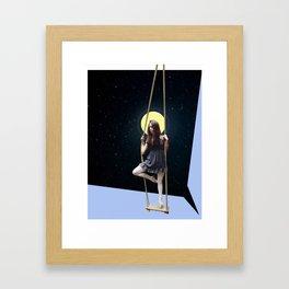 Cosmic Ballet Framed Art Print