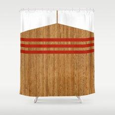 Vintage Rower Ver. 2 Shower Curtain