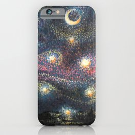 Starry Night 2 of 3 iPhone Case