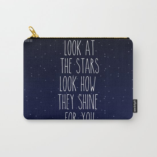Look How They Shine For You Carry-All Pouch