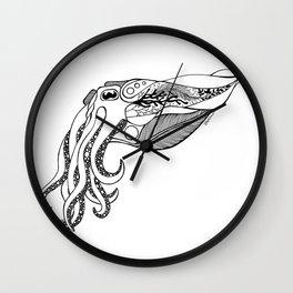 Cuttlefish Design Wall Clock