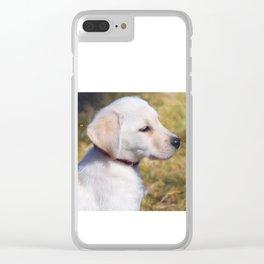 """""""Stella Mae"""" Clear iPhone Case"""