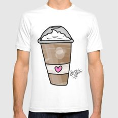 frappe MEDIUM Mens Fitted Tee White