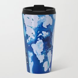 Orca Whale Marvels at the Melting Ice, Environmental # 4 Travel Mug