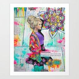 Jessica Art Print