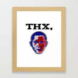 Thanks, Obama Framed Art Print