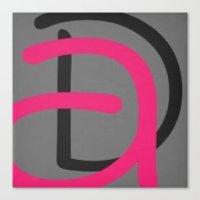 daria Canvas Prints featuring Daria by Jensen Merrell Designs