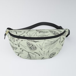 Green forest treasures. Fanny Pack