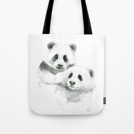 Giant Panda sketch SK064 Tote Bag