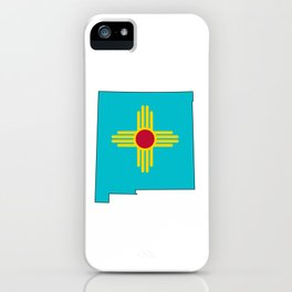 Turquoise New Mexico iPhone Case