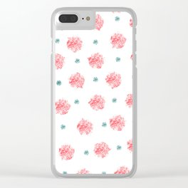 Dots Clear iPhone Case