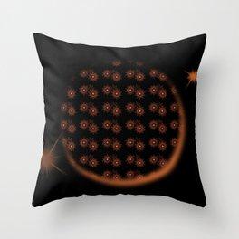 Star Eclipse Throw Pillow