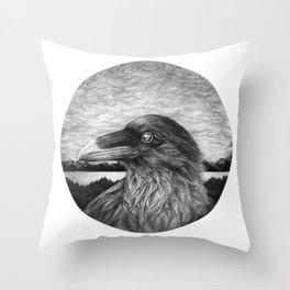 Eye of Nature Throw Pillow