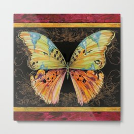 Spanish Butterfly Metal Print