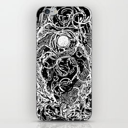 Forest of dark dreams iPhone Skin