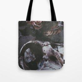 DEATH & ROSES Tote Bag