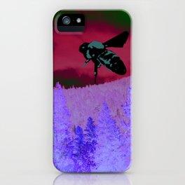 Mountain Bumbler iPhone Case