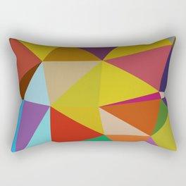 Geometric Abstract Art Pattern Ten Rectangular Pillow