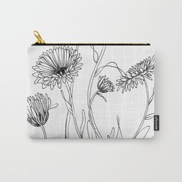 Calendula Flowers Carry-All Pouch
