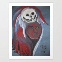 Chief Scary Crow 2016 Art Print