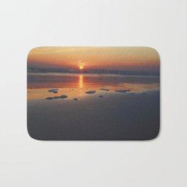 Sandy Sunset- #landscape #beach #photography Bath Mat