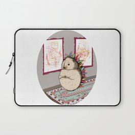 Hedgehog Artist Laptop Sleeve