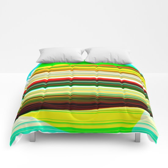 colored frost Comforters