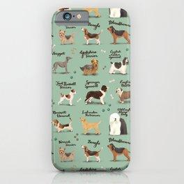 United Kingdom Dog Breeds iPhone Case