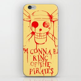 Gonna be King of the Pirates! iPhone Skin