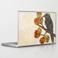 valentina Laptop & iPad Skins featuring Bravebird by Valentina Harper