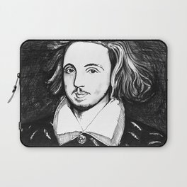 Christopher Marlowe Portrait Laptop Sleeve