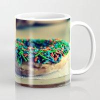 doughnut Mugs featuring Doughnut by lauraflores013
