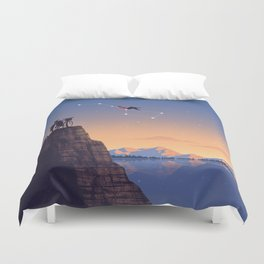 The Big Tripper Duvet Cover
