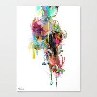 archan nair Canvas Prints featuring Far Away by Archan Nair