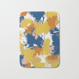 Colorful Abstract I Bath Mat